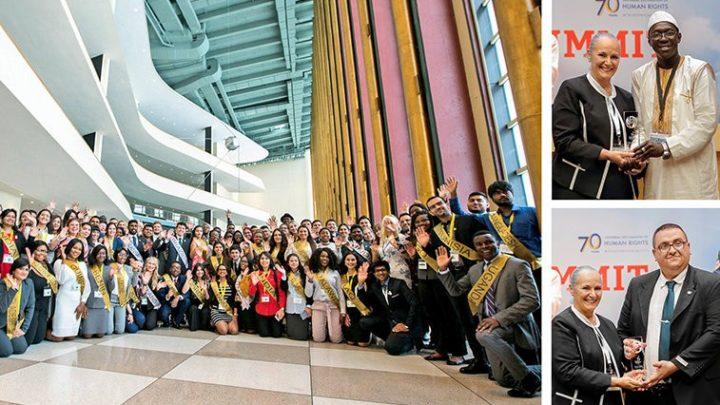 All'ONU si è tenuto il 15° Vertice Internazionale sui Diritti Umani organizzato da Youth for Human Rights