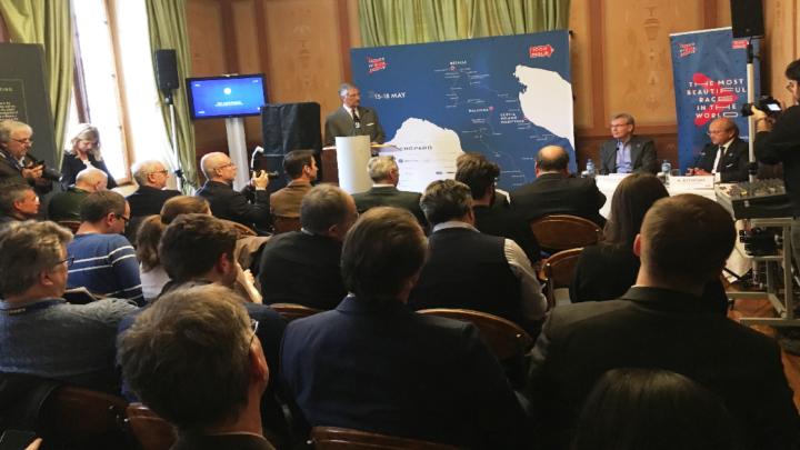 A Ginevra la presentazione della 1000 miglia 2019: 430 equipaggi da 5 continenti