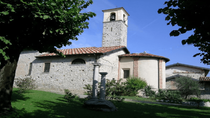La chiesa di Santa Maria Annunciata a Brunello