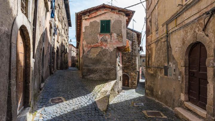 Borgo storico nel cuore d'Abruzzo: Tagliacozzo