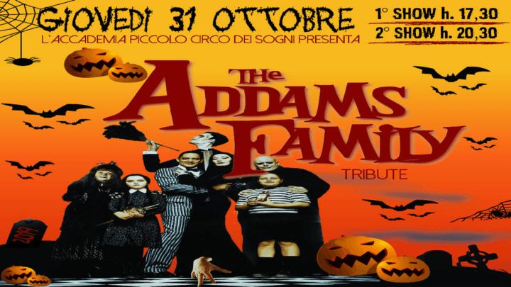 Halloween al Circo di Peschiera Borromeo con The Addams Family Tribute