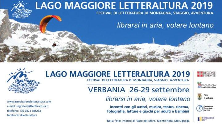 Letteraltura 2019 a Verbania: un appuntamento con il leggere su uno sfondo molto speciale