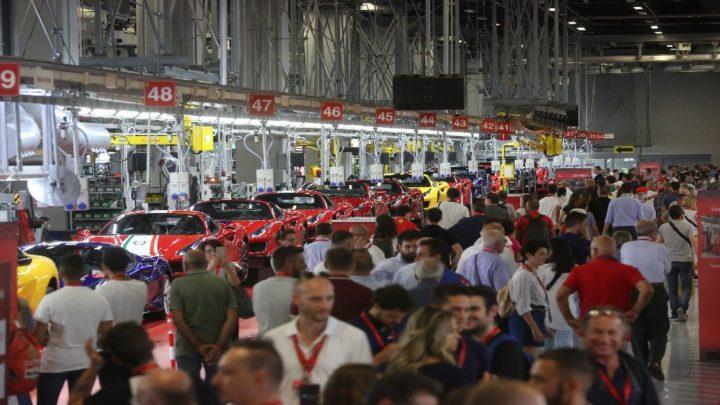 Oltre 24.000 visitatori al Ferrari Family Day